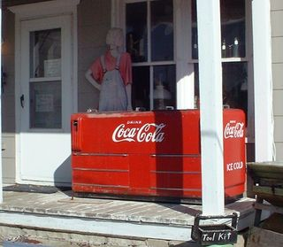 General Store Coca Cola/Coke Cooler