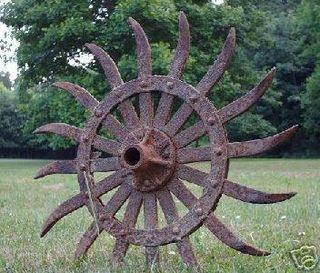 Rotary Hoe Wheel